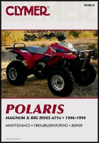 Clymer Service Repair Manual Polaris Big Boss 500 6x6 1998