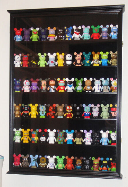 Display Case For Mickey Mouse Vinylmations Figurines With