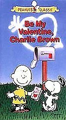 Be My Valentine Charlie Brown Vhs Ebay