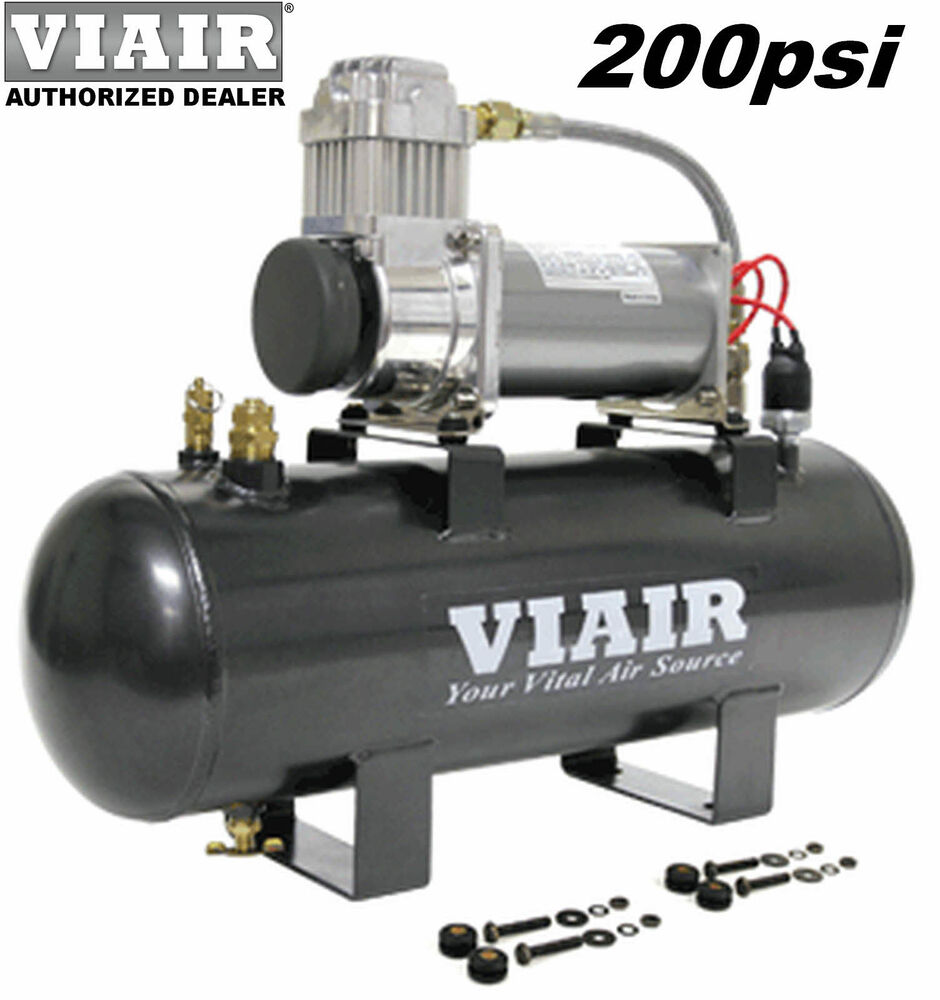 viair 20007 380c air compressor 200psi on board system kit. Black Bedroom Furniture Sets. Home Design Ideas