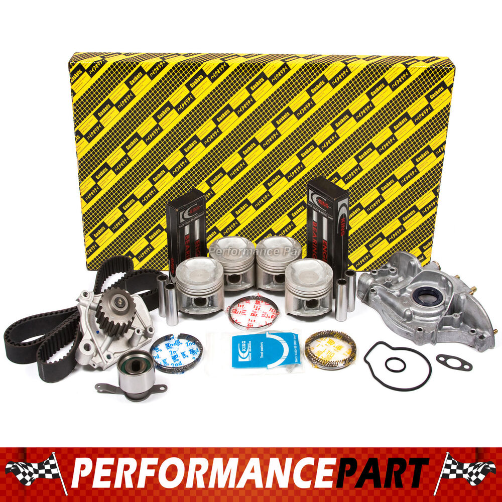 92-95 Honda Civic Delsol 1.6L Engine Rebuild Kit D16Z6 | eBay