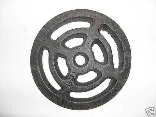 Quot round cast iron external gully trap drain cover ebay