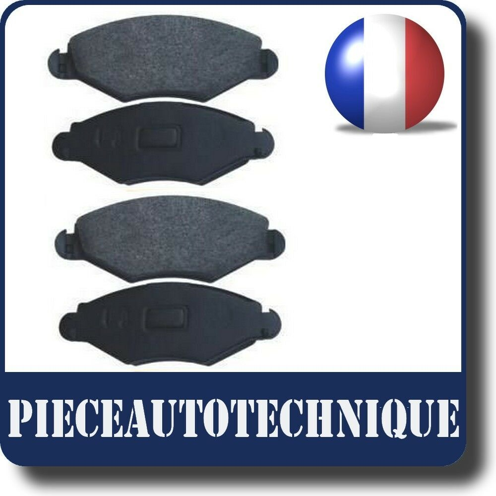 plaquette de frein avant av peugeot 206 essence et diesel ref ps85 ebay. Black Bedroom Furniture Sets. Home Design Ideas