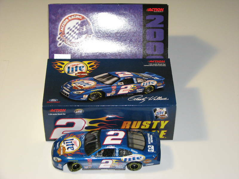 Rusty Wallace Ford >> NASCAR Rusty Wallace Harley #2 Limited Edition Die Cast | eBay
