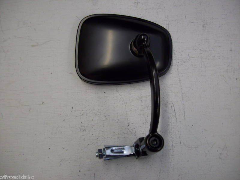 Snowmobile Side Mirrors : Universal atv snowmobile handlebar bar end mirror ebay
