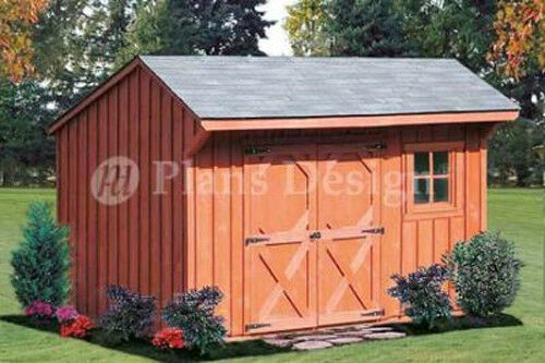 6 39 x 10 39 storage shed playhouse saltbox plans material for Saltbox barn