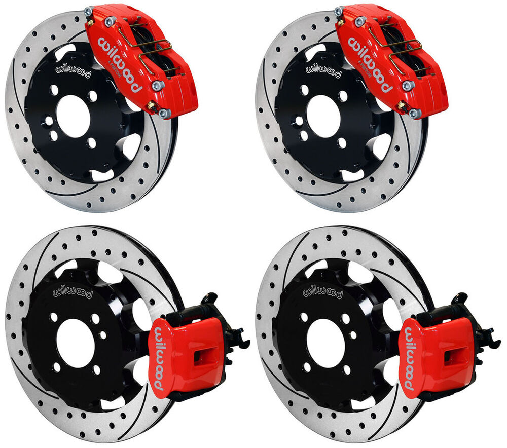wilwood disc brake kit complete mini cooper bmw 12 drilled rotors red calipers ebay. Black Bedroom Furniture Sets. Home Design Ideas