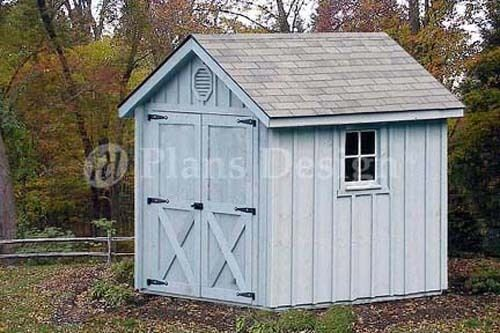 Playhouse Garden Shed Plans : Playhouse storage shed gable project plans