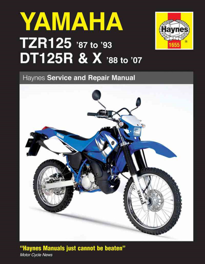 New Yamaha Haynes Manual Repair Maintenance DT125 DTR125 ...