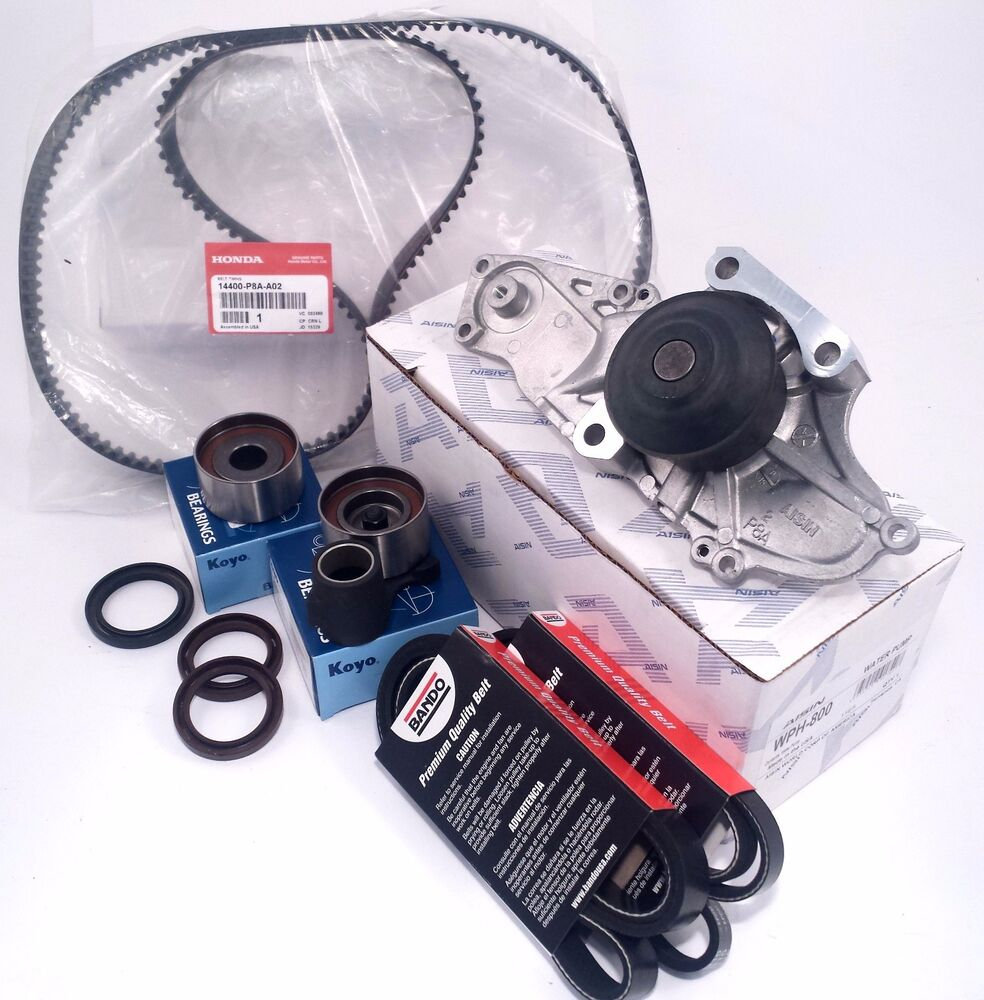 New Complete Acura CL Timing Belt & Water Pump Service Kit