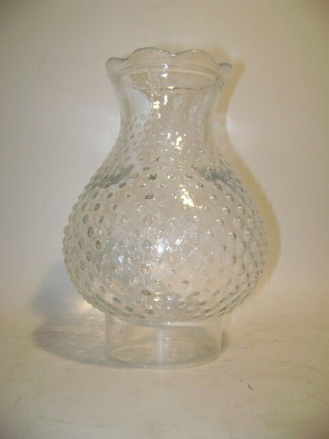 Hobnail Clear Hurricane Glass Lamp Shade Ebay