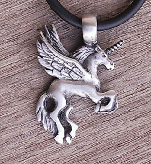 Medieval Fairy Tale Pegasus Unicorn Flying Winged Fantasy