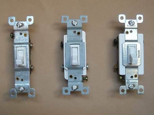 toggle switch 1pole 3way 4way 1451 1453 54504 15a white ebay. Black Bedroom Furniture Sets. Home Design Ideas