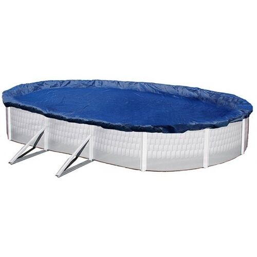 Above Ground Swimming Pool 28x16ft Oval Winter Cover Ebay