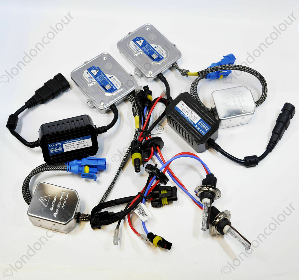 Bmw E46 3 Series Hid Xenon Conversion Kit Slim Ballast Ebay