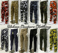 NEW ARMY COMBAT CARGO CAMO MILITARY TROUSERS PANTS