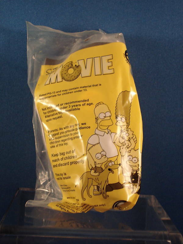 2007 Burger King The Simpsons Movie Toy Ebay