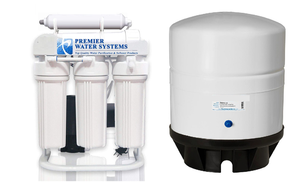 Light Commercial Reverse Osmosis Water Filter System 400