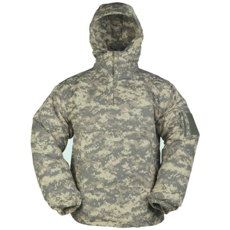 img-WINDPROOF COMBAT MENS ANORAK WATER-REPELLENT HOODED JACKET + FLEECE ACU DIGITAL