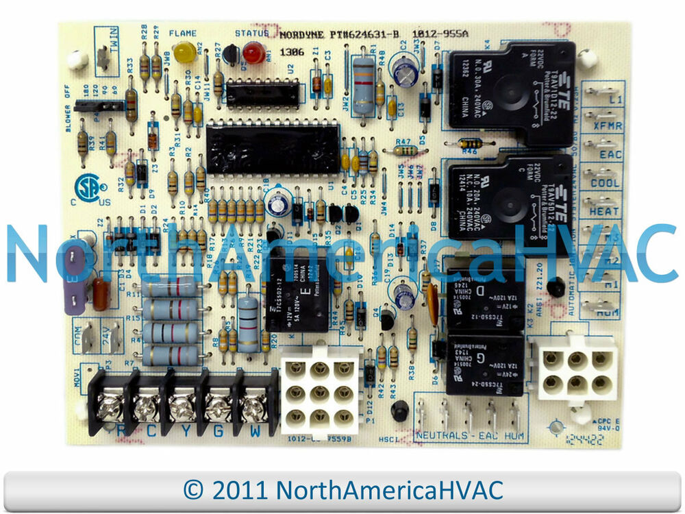 Intertherm Miller Nordyne Furnace Control Board 902696