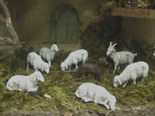 Landi Nativity Sheep Dog Goat Set/ 8 Presepio Pesebre Animal Figurines Creche
