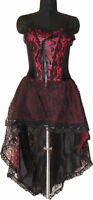 Prom Dress Gothic All Size Red Victorian Dress Sexy1480