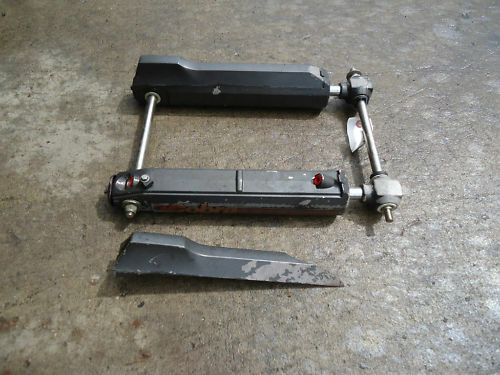1988 omc cobra tilt trim rams used pair paint ebay for Omc cobra tilt trim motor