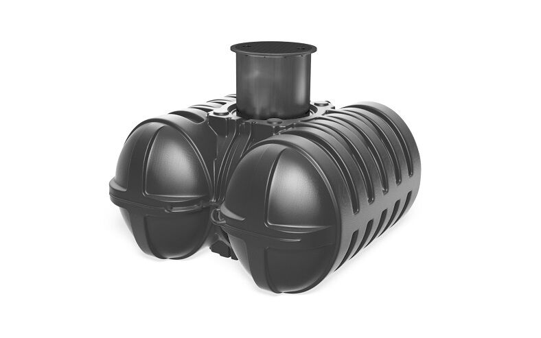 twinblock flachtank 5000 liter zisternen regenwassertank flachtank flachtanks ebay. Black Bedroom Furniture Sets. Home Design Ideas