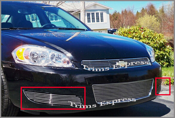 2006 2009 chevy impala lt billet grille bumper 2008 ebay. Black Bedroom Furniture Sets. Home Design Ideas