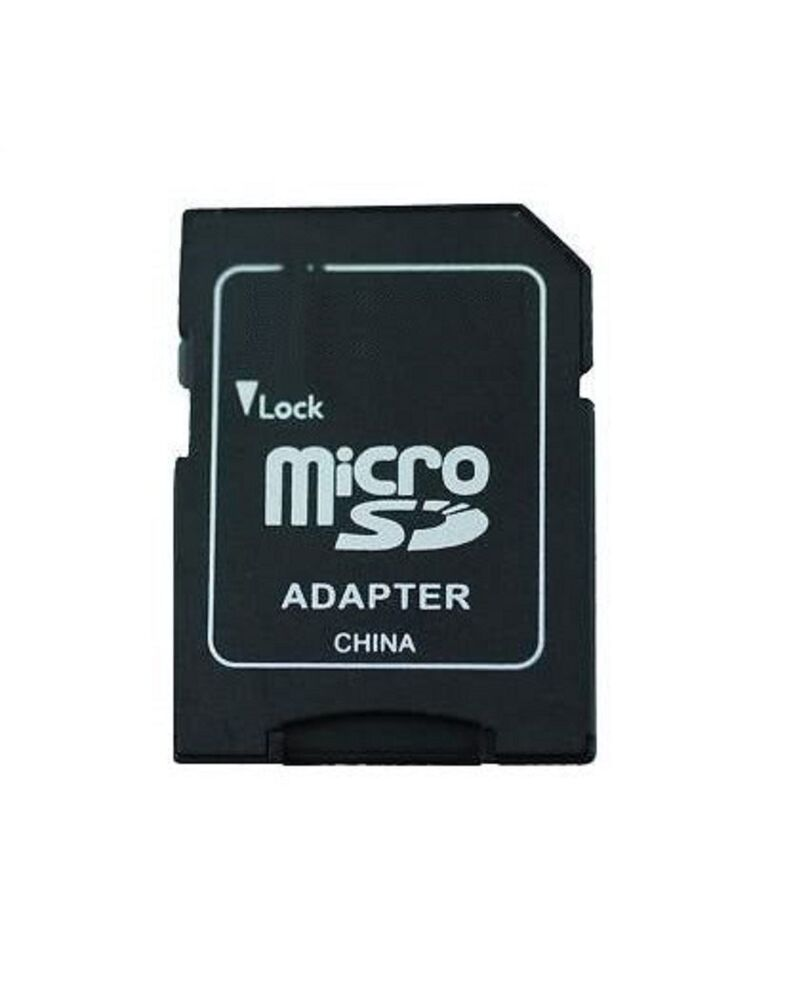 micro sd to sd card adapter 1gb 2gb 4gb 8gb 16gb 32gb ebay. Black Bedroom Furniture Sets. Home Design Ideas