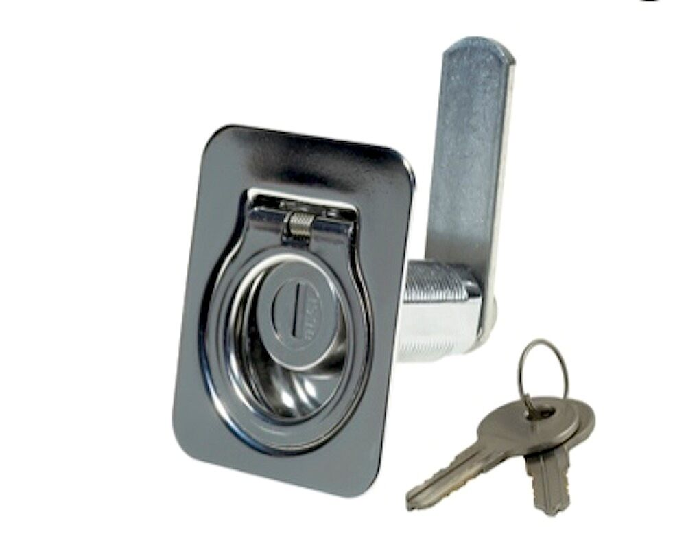Lr 655 Locking Spring Loaded Flush Lift Ring Marine