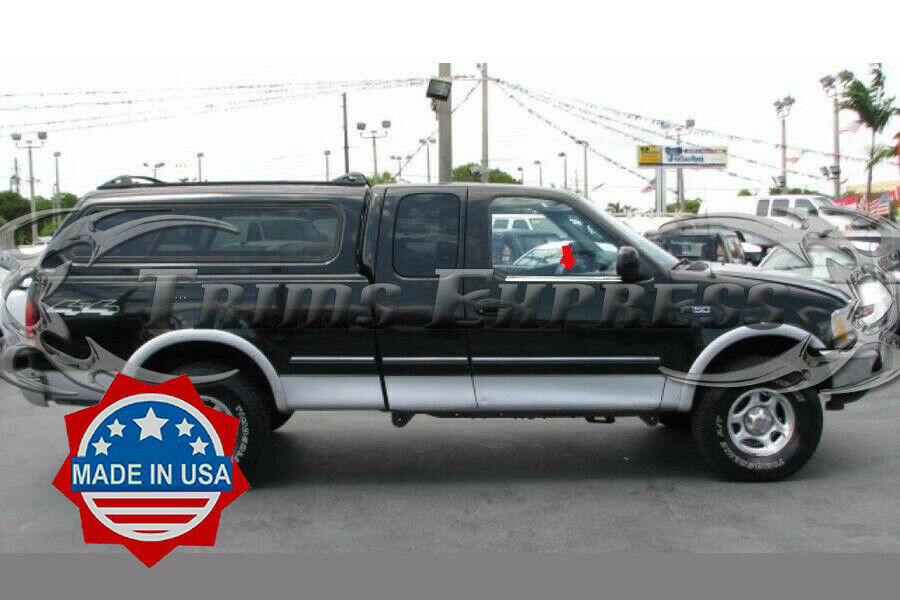 1997 2003 ford f 150 extended super cab 2pc window sill trim overlay ebay. Black Bedroom Furniture Sets. Home Design Ideas