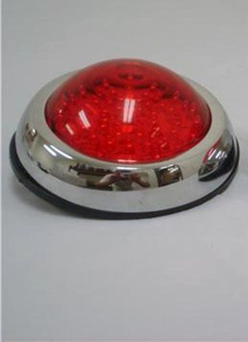 Flush Mount Led Round Street Rod Tail Light Ford Chevy Ebay