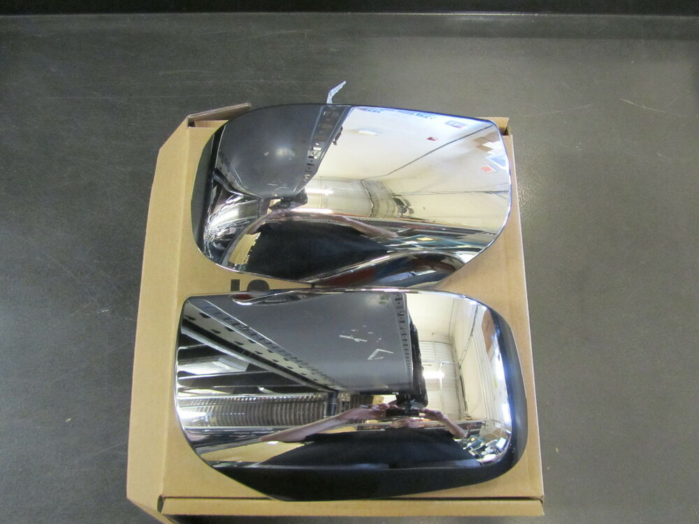New Oem Nissan Rogue 2008 2013 Chrome Mirror Covers Caps