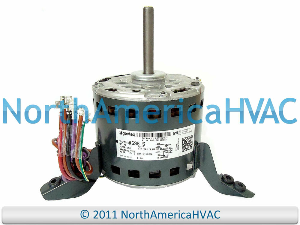 Ge furnace blower motor 1 2 hp 208 230v 5kc39kgr696s ebay for 2 hp blower motor