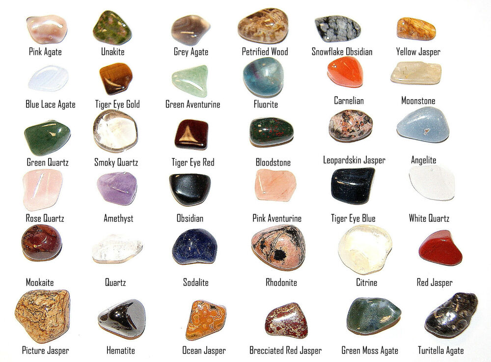 36 stones gemstones collection kit unique crystals large