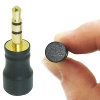 TINY SENSITIVE EXTERNAL MICROPHONE FOR DELL / SONY LAPTOP 3.5mm JACK PLUG MIC