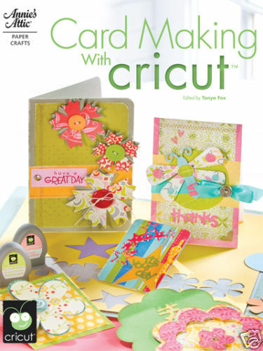 Card making with cricut paper craft idea book cardmaking for Cricut crafts to sell