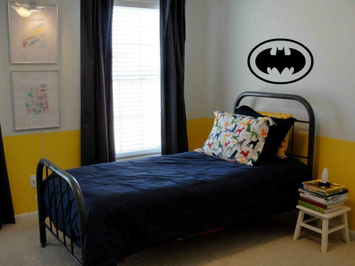 Batman Wall Decal Decor Vinyl Boys