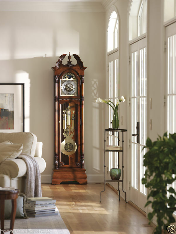 Howard Miller Grandfather Clock | eBay