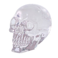 ELECTROPLATED SMALL SKULL STATUE FIGURINE