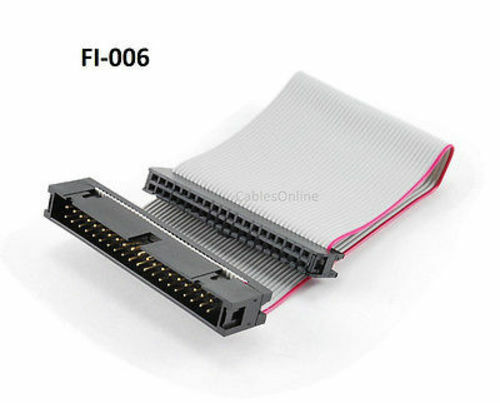 6 inch 40 pin ide male to female extension cable fi 006 ebay. Black Bedroom Furniture Sets. Home Design Ideas