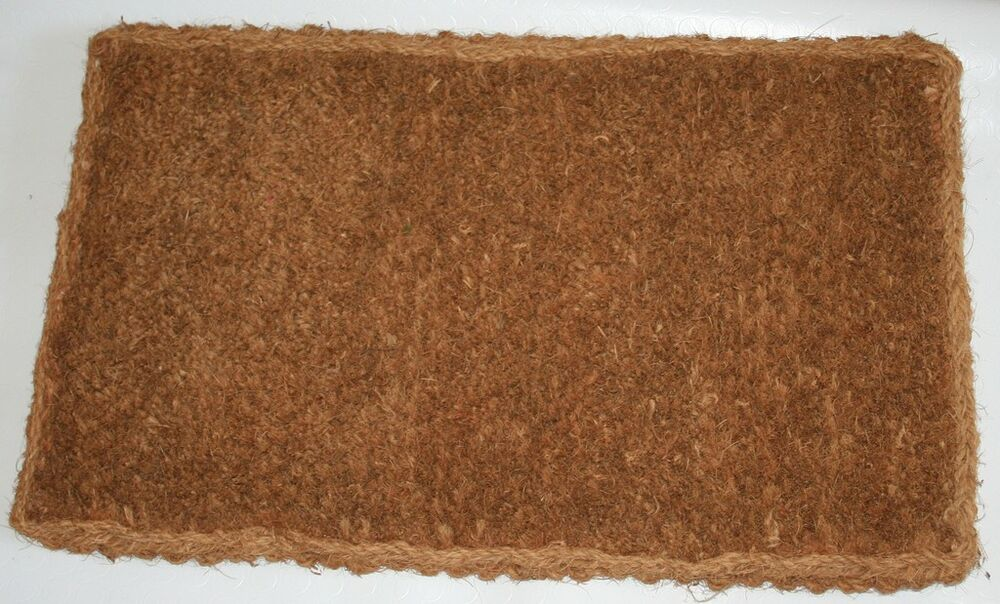Various Plain Large Coir Mat 25mm Thick Doormat Ebay