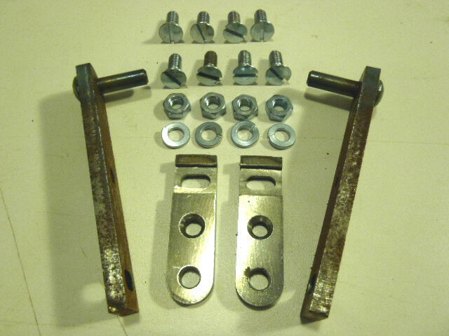 32 Ford 3 Window 3W Coupe Trunk Deck Boot Hinge Kit