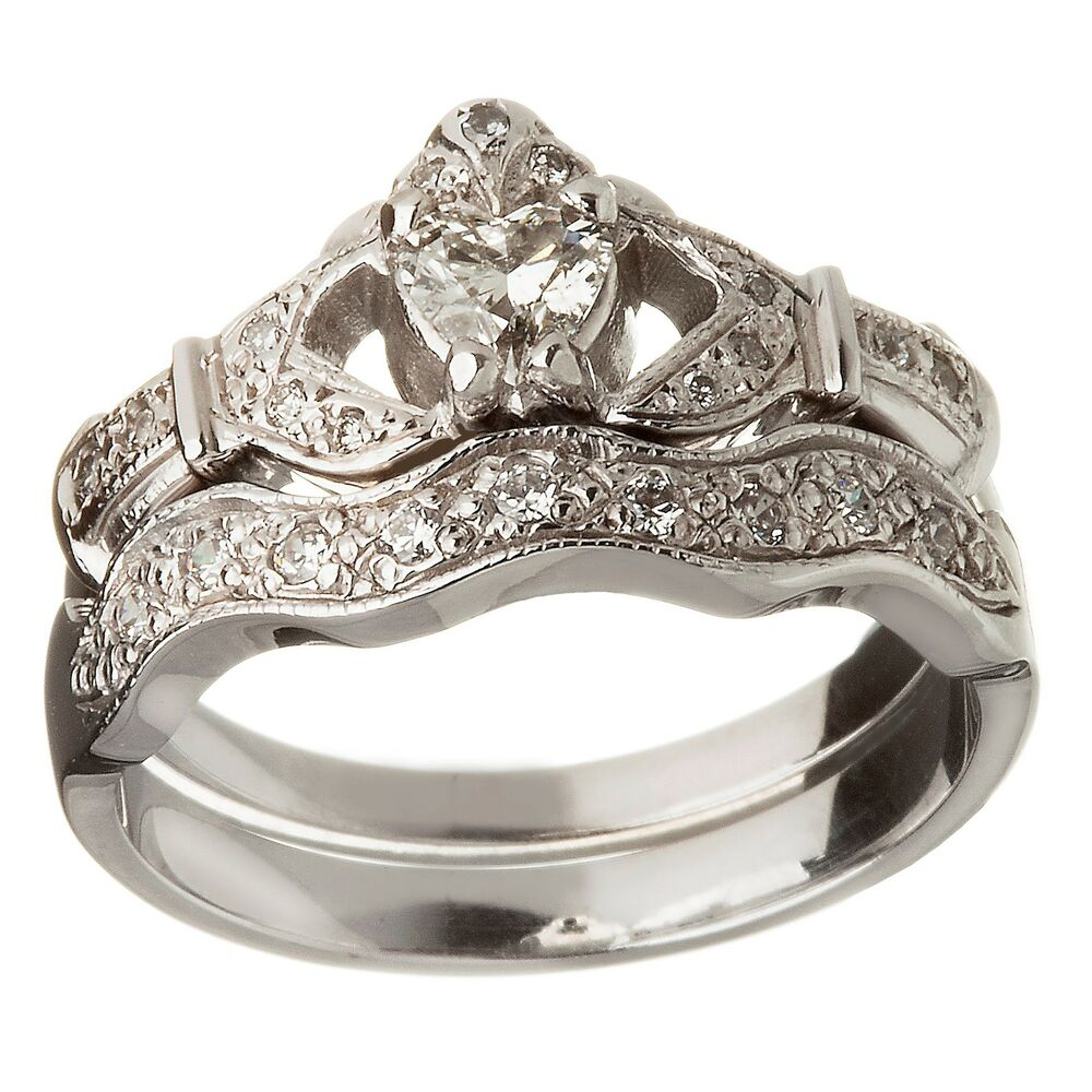 Claddagh Engagement Ring