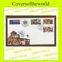 S.W.A. 1976 Castles set First Day Cover,