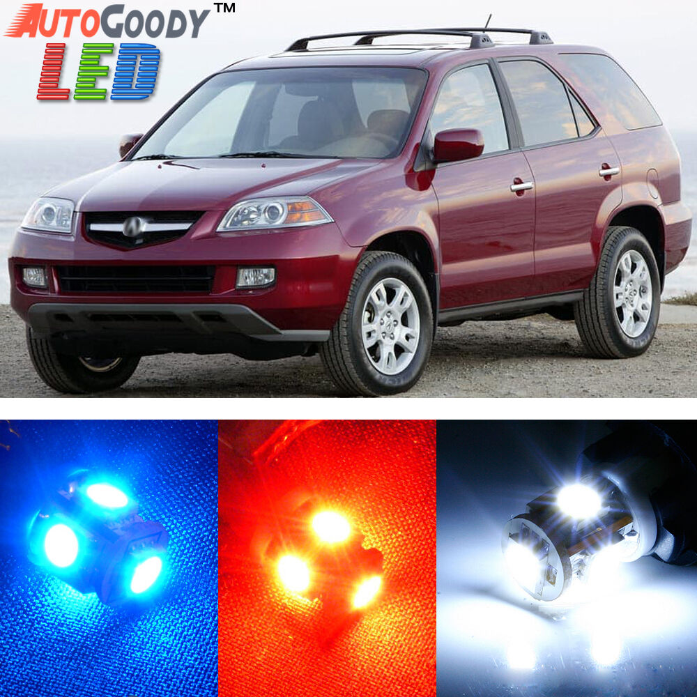 18 X Premium Xenon White LED Lights Interior Package Kit
