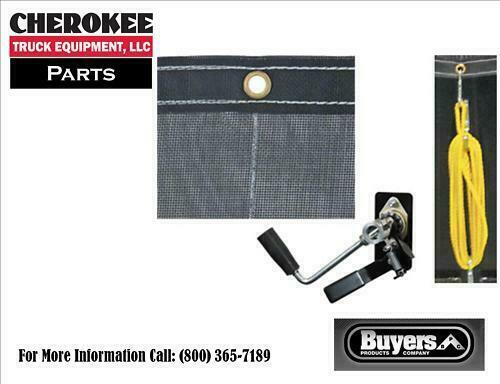Buyers Products Dtr7015 7 X 15 Mesh Tarp Kit