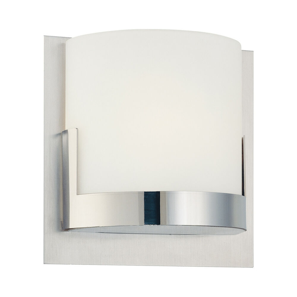George Kovacs Wall Sconce Chrome : George Kovacs P5952-077 Modern Convex Wall Sconce Light eBay
