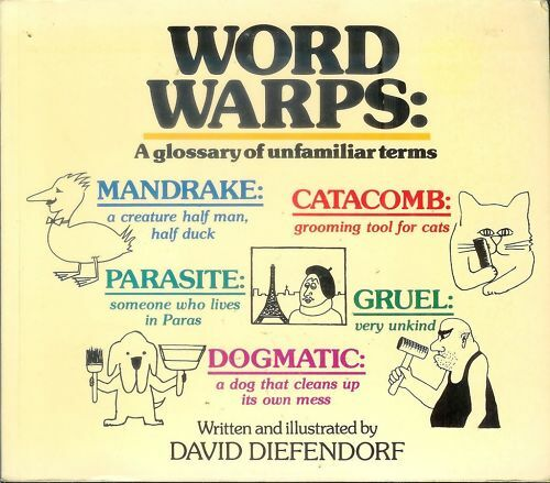 WORD    WARPS A    Glossary       of Unfamiliar    Terms by Diefendorf   eBay